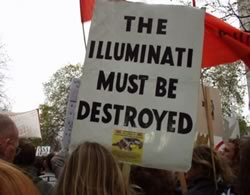 Demonstration mod Illuminati