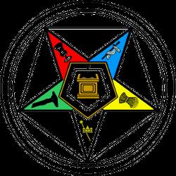 Frimurerorganisations brug af pentagram