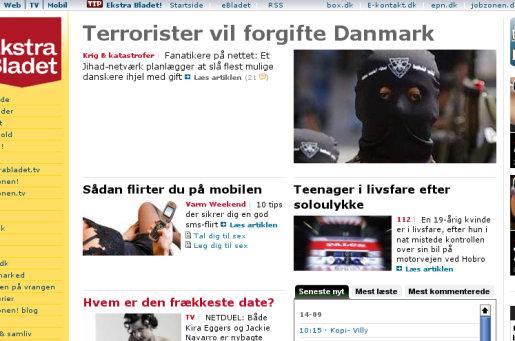 Ekstra Bladets sensationsjournalistik