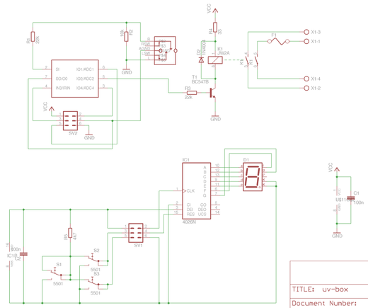 UV Box Schematic